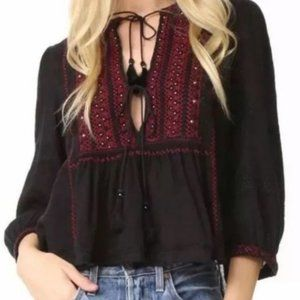 Free People Urban Outfitters Peasant Top XS